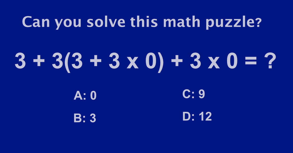 Upgrade Your Math Skills With This Mind Boggling Quiz!